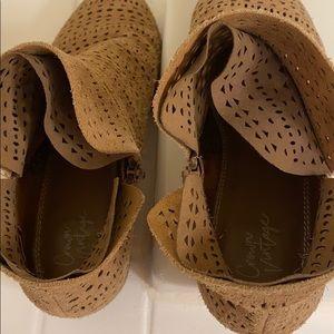 Crown Vintage Shoes - Women's Suede Booties